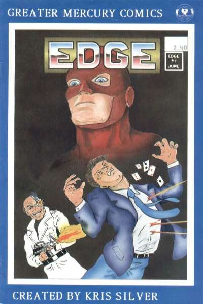 Edge #1 comic books - cover scans photos Edge #1 comic books - covers, picture gallery