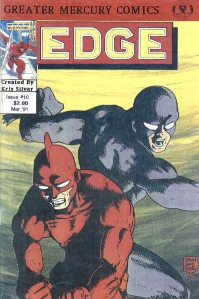 Edge #10 comic books - cover scans photos Edge #10 comic books - covers, picture gallery
