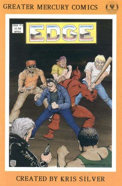 Edge #5 comic books for sale