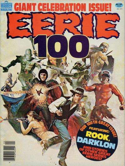 Eerie #100 comic books for sale