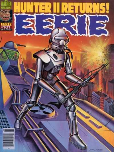 Eerie #101 comic books - cover scans photos Eerie #101 comic books - covers, picture gallery