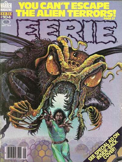 Eerie #104 Comic Books - Covers, Scans, Photos  in Eerie Comic Books - Covers, Scans, Gallery