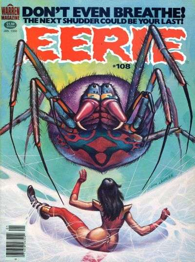 Eerie #108 comic books - cover scans photos Eerie #108 comic books - covers, picture gallery
