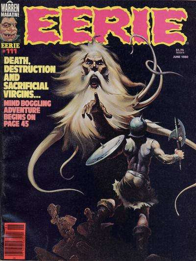 Eerie #111 Comic Books - Covers, Scans, Photos  in Eerie Comic Books - Covers, Scans, Gallery