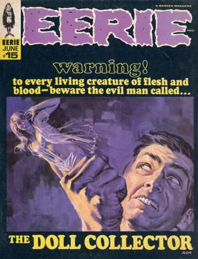 Eerie #15 comic books - cover scans photos Eerie #15 comic books - covers, picture gallery