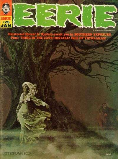 Eerie #25 comic books - cover scans photos Eerie #25 comic books - covers, picture gallery