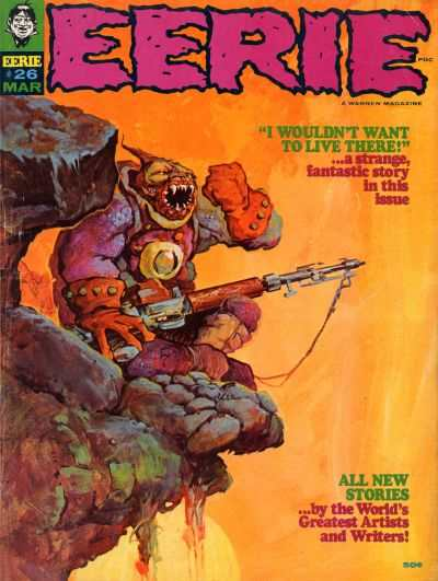 Eerie #26 comic books - cover scans photos Eerie #26 comic books - covers, picture gallery