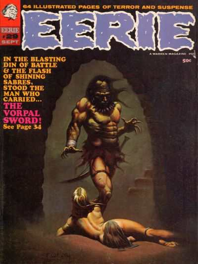 Eerie #29 comic books - cover scans photos Eerie #29 comic books - covers, picture gallery