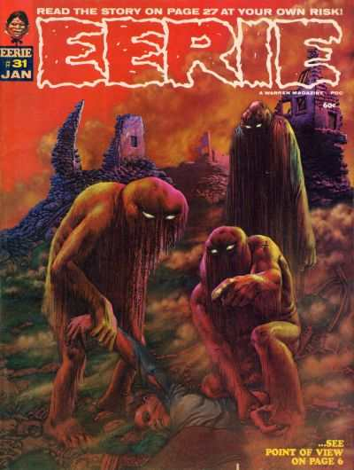 Eerie #31 comic books - cover scans photos Eerie #31 comic books - covers, picture gallery