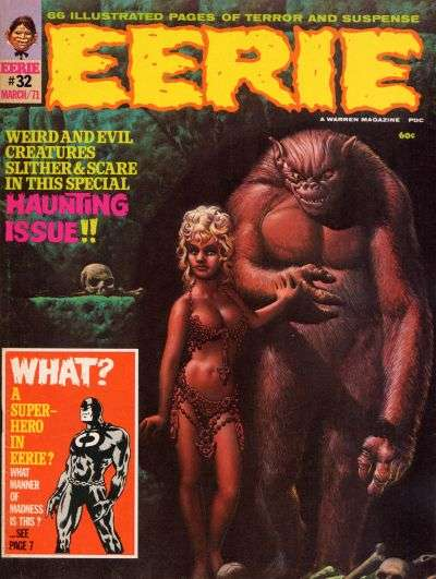 Eerie #32 comic books - cover scans photos Eerie #32 comic books - covers, picture gallery