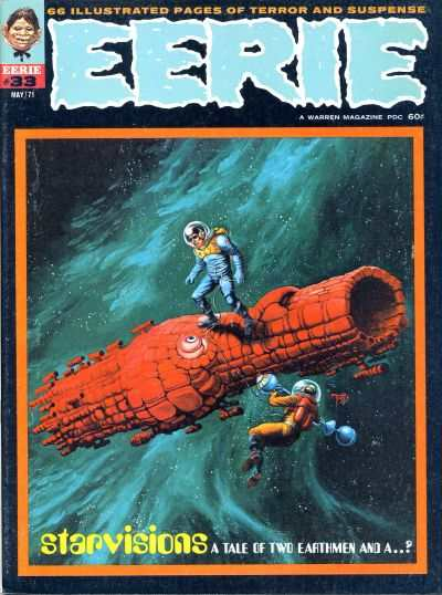 Eerie #33 Comic Books - Covers, Scans, Photos  in Eerie Comic Books - Covers, Scans, Gallery
