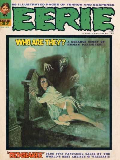 Eerie #37 comic books - cover scans photos Eerie #37 comic books - covers, picture gallery