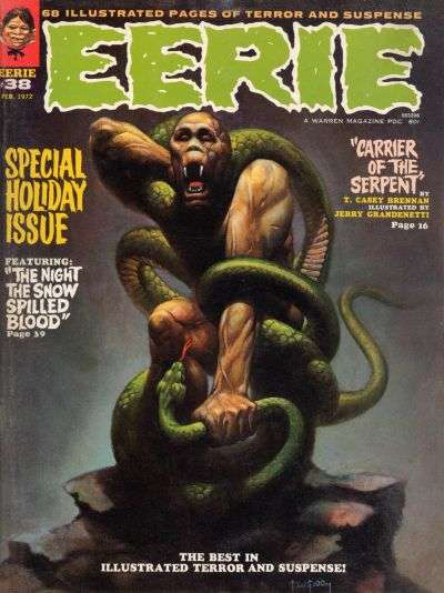 Eerie #38 comic books - cover scans photos Eerie #38 comic books - covers, picture gallery