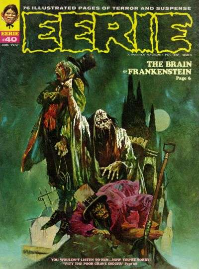 Eerie #40 Comic Books - Covers, Scans, Photos  in Eerie Comic Books - Covers, Scans, Gallery
