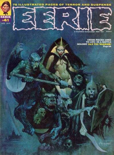 Eerie #41 comic books - cover scans photos Eerie #41 comic books - covers, picture gallery