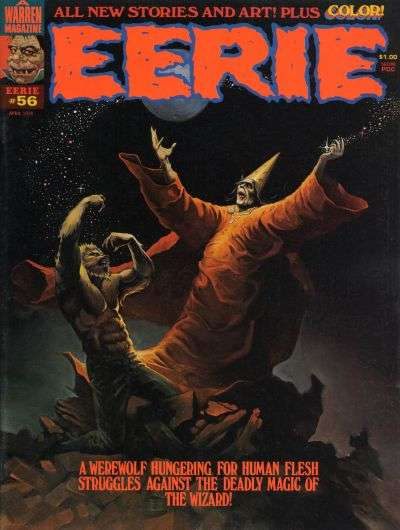 Eerie #56 comic books - cover scans photos Eerie #56 comic books - covers, picture gallery