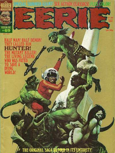 Eerie #69 comic books - cover scans photos Eerie #69 comic books - covers, picture gallery