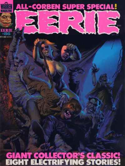 Eerie #86 comic books - cover scans photos Eerie #86 comic books - covers, picture gallery