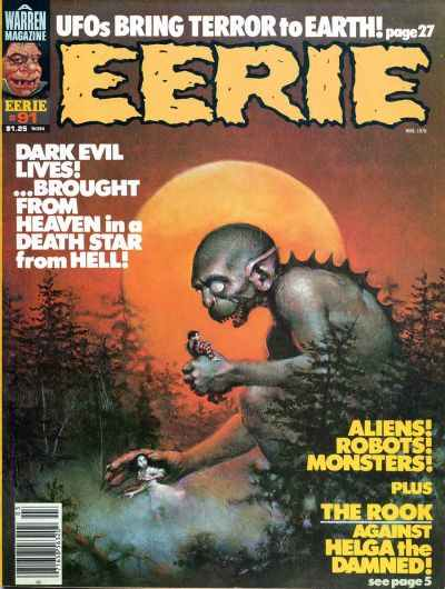 Eerie #91 comic books - cover scans photos Eerie #91 comic books - covers, picture gallery