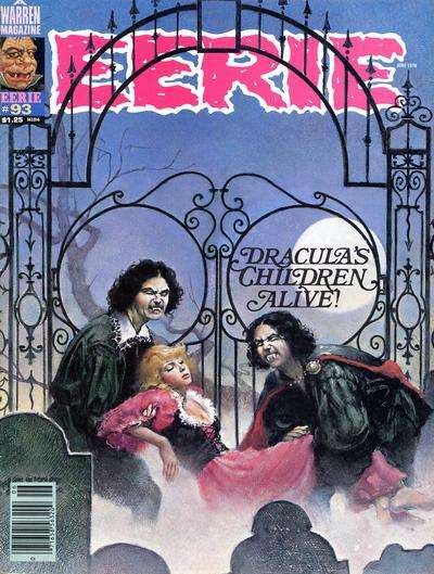 Eerie #93 Comic Books - Covers, Scans, Photos  in Eerie Comic Books - Covers, Scans, Gallery