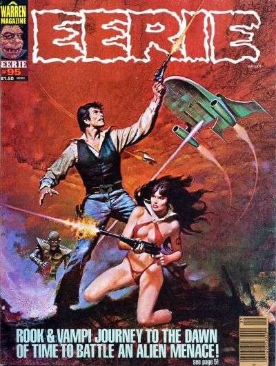 Eerie #95 Comic Books - Covers, Scans, Photos  in Eerie Comic Books - Covers, Scans, Gallery