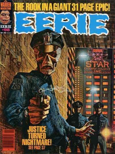Eerie #98 comic books - cover scans photos Eerie #98 comic books - covers, picture gallery