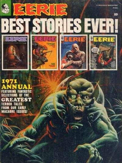 Eerie #1971 comic books for sale
