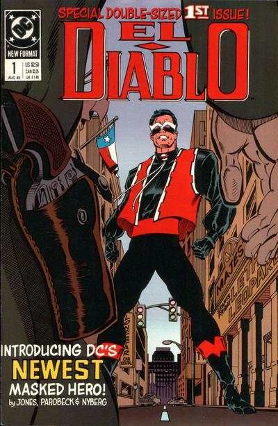 El Diablo #1 comic books - cover scans photos El Diablo #1 comic books - covers, picture gallery