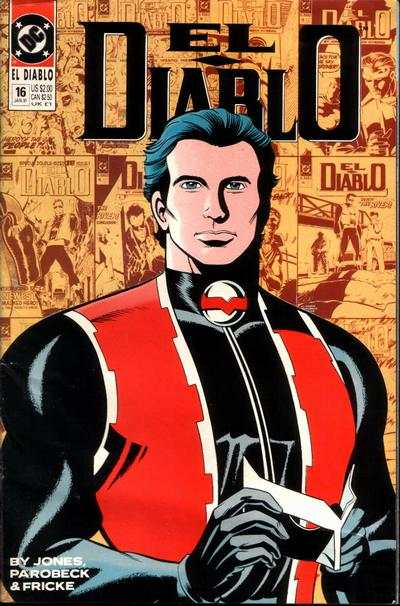 El Diablo #16 comic books - cover scans photos El Diablo #16 comic books - covers, picture gallery