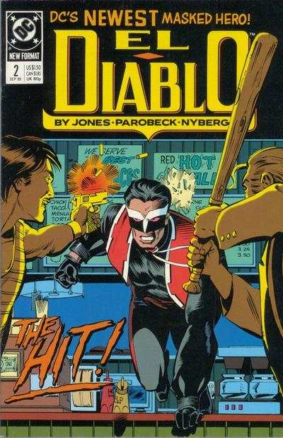 El Diablo #2 comic books - cover scans photos El Diablo #2 comic books - covers, picture gallery