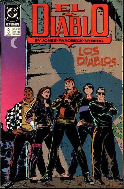 El Diablo #3 comic books - cover scans photos El Diablo #3 comic books - covers, picture gallery