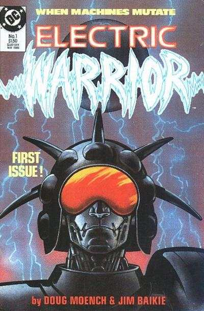 Electric Warrior #1 comic books - cover scans photos Electric Warrior #1 comic books - covers, picture gallery