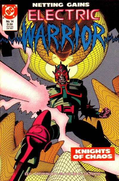 Electric Warrior #14 comic books for sale