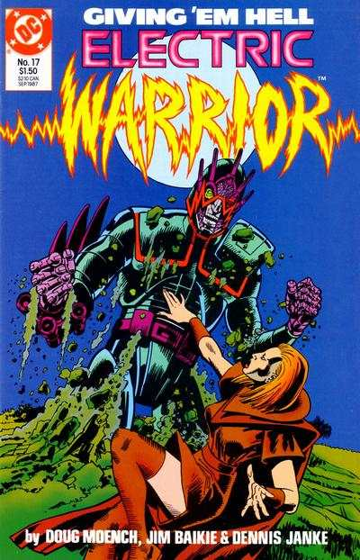 Electric Warrior #17 comic books - cover scans photos Electric Warrior #17 comic books - covers, picture gallery