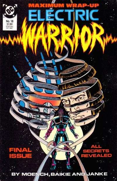 Electric Warrior #18 comic books - cover scans photos Electric Warrior #18 comic books - covers, picture gallery