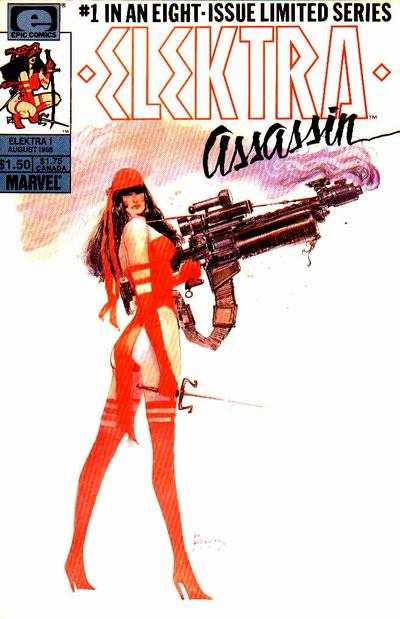 Elektra: Assassin #1 comic books - cover scans photos Elektra: Assassin #1 comic books - covers, picture gallery