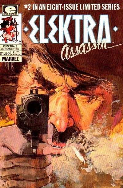 Elektra: Assassin #2 cheap bargain discounted comic books Elektra: Assassin #2 comic books