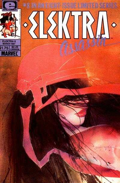 Elektra: Assassin #8 comic books - cover scans photos Elektra: Assassin #8 comic books - covers, picture gallery