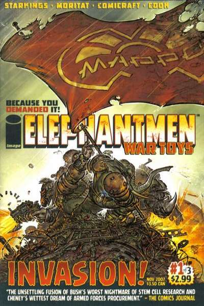 Elephantmen: War Toys #1 comic books - cover scans photos Elephantmen: War Toys #1 comic books - covers, picture gallery