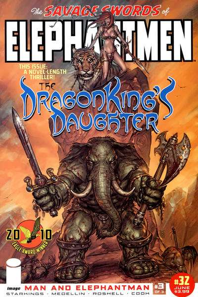 Elephantmen #32 comic books for sale