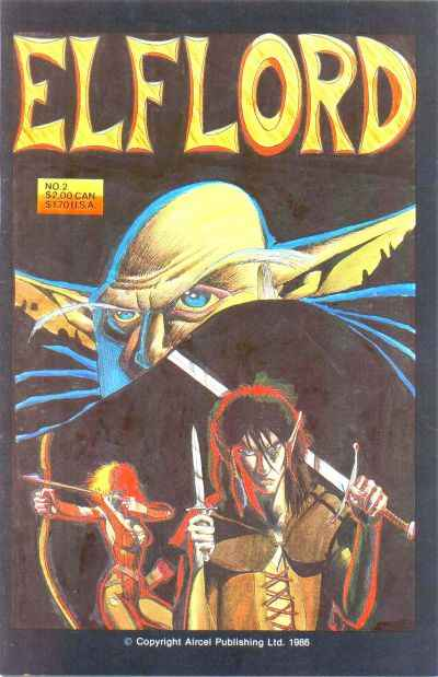 Elflord #2 Comic Books - Covers, Scans, Photos  in Elflord Comic Books - Covers, Scans, Gallery
