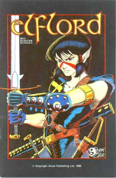 Elflord #3 Comic Books - Covers, Scans, Photos  in Elflord Comic Books - Covers, Scans, Gallery