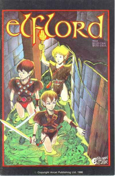 Elflord #4 comic books - cover scans photos Elflord #4 comic books - covers, picture gallery