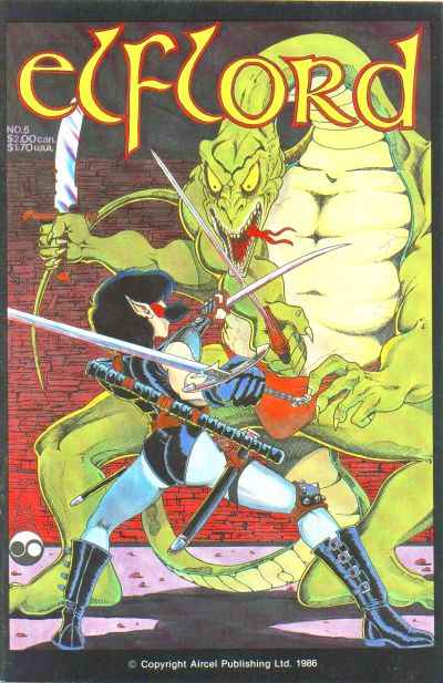 Elflord #5 Comic Books - Covers, Scans, Photos  in Elflord Comic Books - Covers, Scans, Gallery
