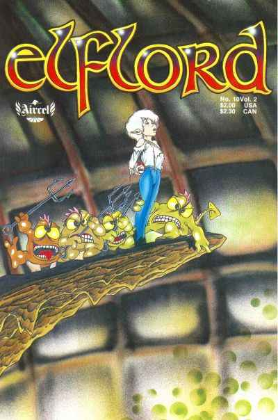 Elflord #10 comic books - cover scans photos Elflord #10 comic books - covers, picture gallery