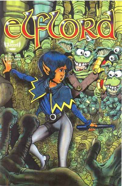 Elflord #18 Comic Books - Covers, Scans, Photos  in Elflord Comic Books - Covers, Scans, Gallery