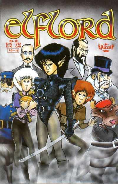 Elflord #20 Comic Books - Covers, Scans, Photos  in Elflord Comic Books - Covers, Scans, Gallery