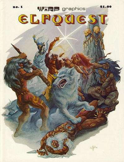 Elfquest comic books