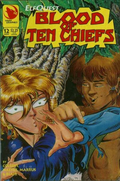 Elfquest: Blood of Ten Chiefs #12 Comic Books - Covers, Scans, Photos  in Elfquest: Blood of Ten Chiefs Comic Books - Covers, Scans, Gallery