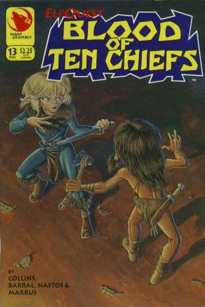 Elfquest: Blood of Ten Chiefs #13 comic books for sale